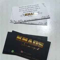 business card / Diseño e impresión de tarjetas de presentación by #mundoideasgroup