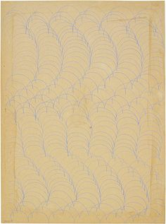 """""""Through a battery of simple freehand line exercises, students discovered that lines and shapes formed relationships, established rhythms and tensions, pushed and pulled."""" Josef and Anni Albers Foundation"""