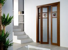folding door -- to open up his space -- maybe could do on both sides.