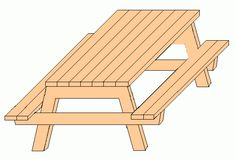 Free Picnic Table Plans Woodworking