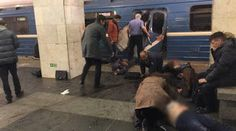 Galdino Saquarema 1ª Página: Explosão no metrô  em São Petersburgo na Rússia