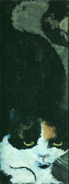 Pierre Bonnard - Le Chat, 1890