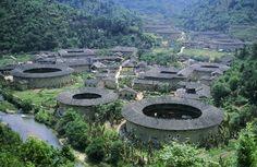 Hakka villages, China