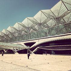 GareDoOriente, Lisbon Image by @Mark Van Der Voort Van Der Voort Broadhead.