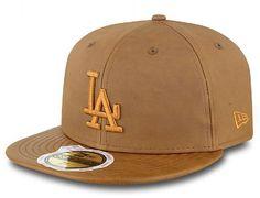 Leather Premium LA Dodgers Womens 59Fifty Fitted Cap by NEW ERA x MLB Bonés  De Beisebol 6eed7b07041