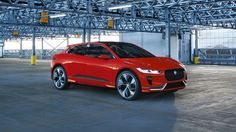 Jaguar I-Pace Concept Makes European Debut JaguarI-Pace Conceptis pretty eye-catching at the Geneva Motor Show. It featuresPhoton Redcolor and it is the first completely electric car coming from Jaguar. The model has also got dual compact enginesat each axle drive all four wheelsand it is equipped with a90kW/hbattery pack. The...