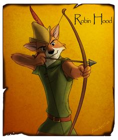 Robin H by Emo-Hellion in The Wonderful World of Disney Animation: The Little Mermaid, Alladin and Robin Hood