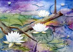 Lily Pads Notecards inspired by Northern by NMWartNotecards, $12.00