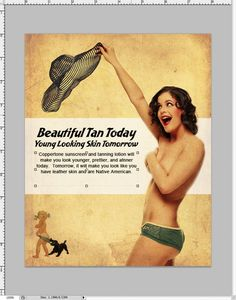Make a Vintage Magazine Ad in Photoshop