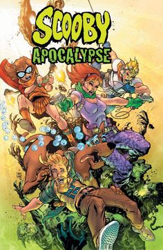 Scooby Apocalypse by Jim Lee