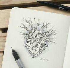 Geometric Beast | Heart