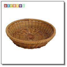DecoBox 普羅旺斯圓型收納盤(30公分-1個) (雜物籃.神桌拜拜水果盤..麵包盤.肉粽籃)