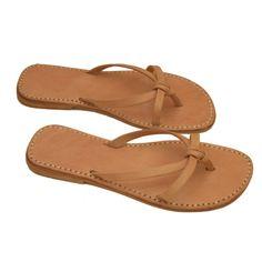sandales cuir  Sefsaf
