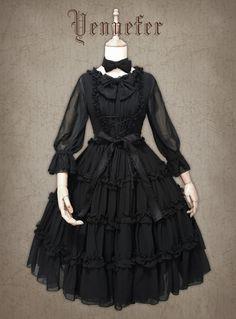 FoxTrot -Yennefer- Lolita OP Dress
