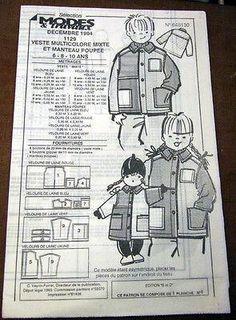 patron couture a vendre