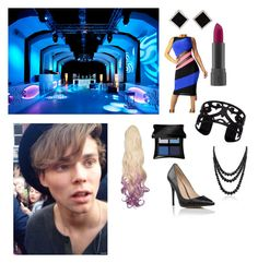 Celebrating Ashton's Birthday by sparklesgirl2014 on Polyvore featuring polyvore fashion style Lipsy Lisa August Bling Jewelry Yvel Illamasqua Bite Cova clothing birthday gorgeous ashtonirwin celebrating fashionset