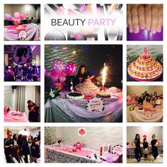 Festa a tema - BEAUTY PARTY