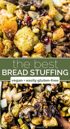 This is seriously THE BEST stuffing recipe ever!