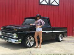 1965 Chevy C10, Chevy Pickup Trucks, Gm Trucks, Chevrolet Trucks, Chevy Pickups, Trucks And Girls, Car Girls, Hot Rod Trucks, Cool Trucks