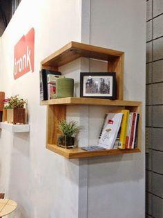 Idea para aprovechar espacios pequeños ... o con una columna mal situada?
