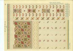 Folk Embroidery, Cross Stitch, Restaurant Ideas, Traditional, Crafts, Patterns, Folklore, Block Prints, Punto De Cruz