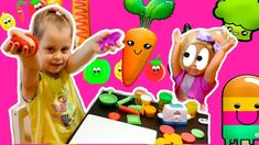 Еда для куклы из пластилина / Plasticine food for dolls / الغذاء البلاستيسين للدمى Plasticine, Confirmation, Bon Appetit, Food To Make, Channel, Fish, Dolls, Vegetables, Stars