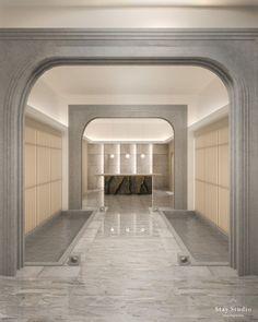 Spa Design, Cafe Design, Spa Interior, Interior Design, Macau, Cladding Design, Deco, Aesthetic Shop, Lobby Lounge