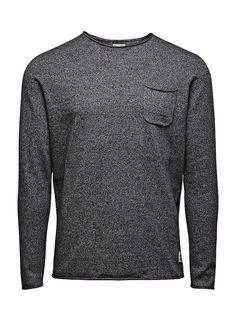 JACK & JONES VINTAGE CLOTHING - Pullover von VINTAGE - Regular fit - Crew Neck - Brusttasche - Rollsaum 60% Baumwolle, 40% Polyester...