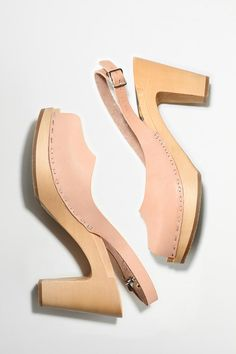 Neutral clog/heels. Pretty good. $249   Again...not for an old bird...but so pretty.