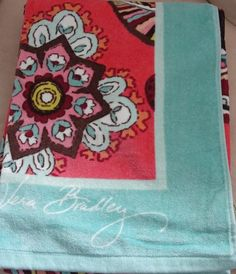 VB Call Me Coral Beach Towel - retired