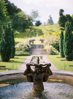 garden of Sezincote in the Cotswolds | by Alexander James