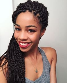 Feeling like a princess with my Senegalese twists ✨   Protective Styles For Natural Hair   How To Style Senegalese Twists   Melanin   Glow   Black Blogger