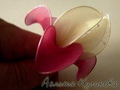 Мастер-класс от Аэлиты Куликовой — изготовление цветка из капрона | Хобби (рукоделие своими руками): вышивка, вязание