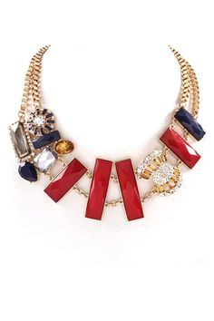 Gail Necklace in Ruby/Awesome