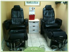 Elite Salon & Day Spa Pedispas!