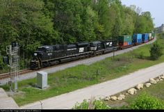 RailPictures.Net Photo: NS 1073 Norfolk Southern EMD SD70ACe at Clinchfield, Georgia by Allan R. Willams Jr.