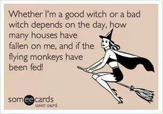 Good witch, Bad witch.