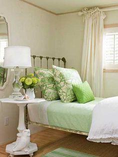 nice Mint Green Color Scheme For Bedroom
