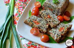 Drob vegan cu naut si ciuperci - Prăjiturici și altele Meatloaf, Food, Essen, Meals, Yemek, Eten