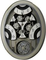 """18.3"""" x 14"""" Classic Brilliance Musicall Clock Silver 4MH78PD18  I just am going to have a hard   time deciding which one to choose."""