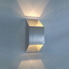Outdoor Sconce Lighting, Cool Lighting, Wall Sconce Lighting, Interior Lighting, Lighting Design, Wall Sconces, Wall Lamps, Wall Decor Lights, Modern Wall Lights