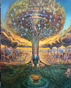 Kunst Inspo, Art Inspo, Psychedelic Art, Art And Illustration, Spiritual Paintings, Angel Images, Beautiful Fantasy Art, Fantasy Kunst, Fantasy Dragon