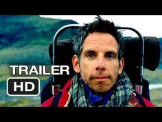 The Secret Life of Walter Mitty Official Trailer #1 (2013) - Ben Stiller Movie HD - YouTube
