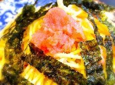 韓国海苔です\(^o^)/ - 11件のもぐもぐ - たらこスパゲッティ by camille nelson