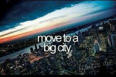 ☪pinterest → sidneycroy☼ // Move to a big city