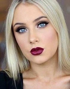 Lauren Curtis at her finest. Love this look! #redlips #pretty #makeup