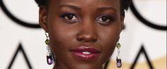 Lupita Nyong'o Golden Globes Dress Blooms Like An African Violet