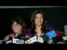 CHECKOUT How SMARTLY Sushmita Sen AVOIDS controversial questions.