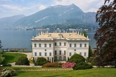 Villa Melzi is a superb expression of Neoclassical style enriched by unique gardens of highly romantic taste. Description from lakecomofestival.com. I searched for this on bing.com/images