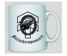 Tasse Fallschirmpioniere der Bundeswehr / mehr Infos auf: www.Guntia-Militaria-Shop.de
